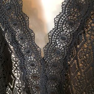 f9e10796a5 Catalina Swim - NWOT Catalina black lace swimsuit cover-up 1X